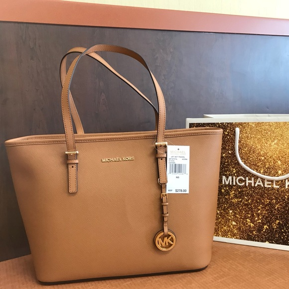 7b6d2fc47b8728 Michael Kors Bags | New 278 Purse Mk Jet Set Handbag Bag | Poshmark